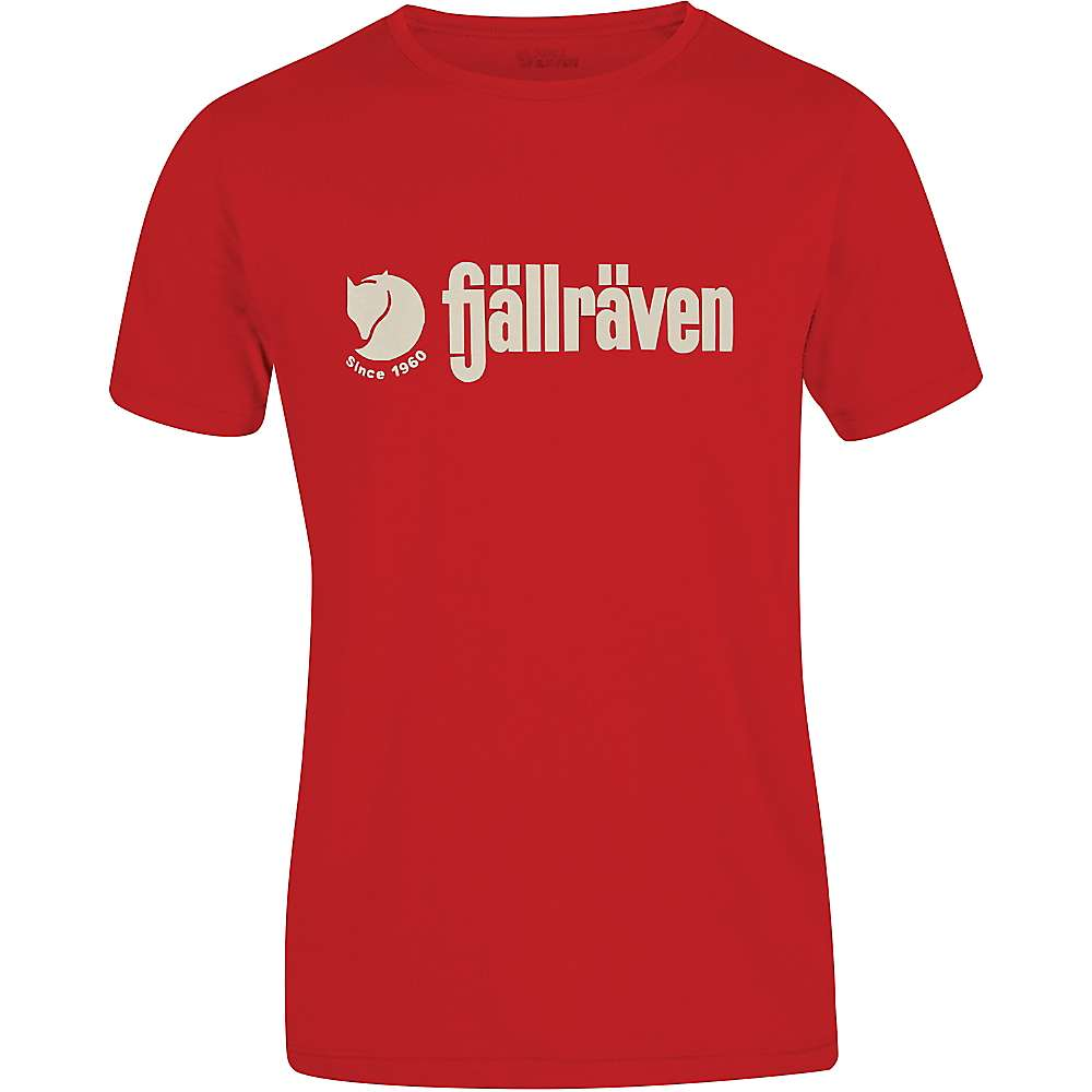 Fjallraven Men's Retro Logo T-Shirt - XL - Red