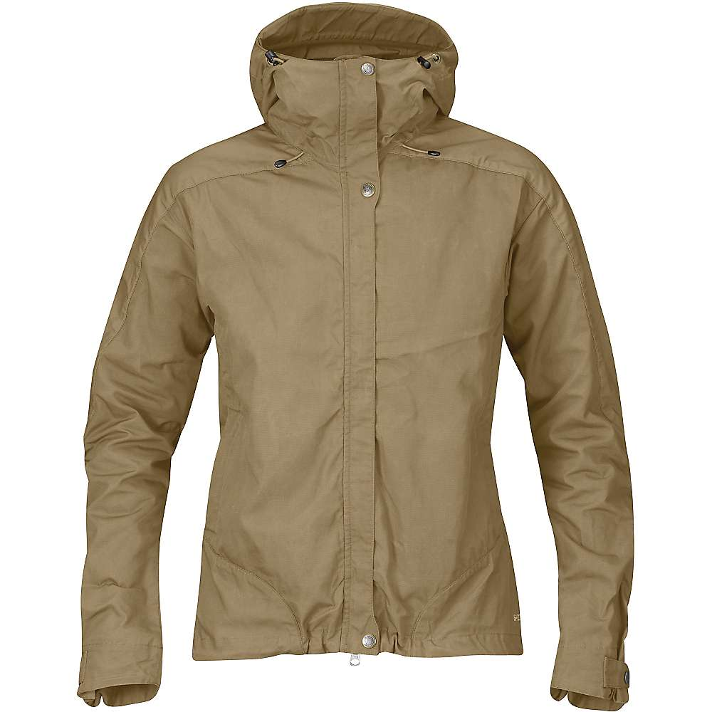 Fjallraven Women's Skogso Jacket - Small - Sand / Tarmac