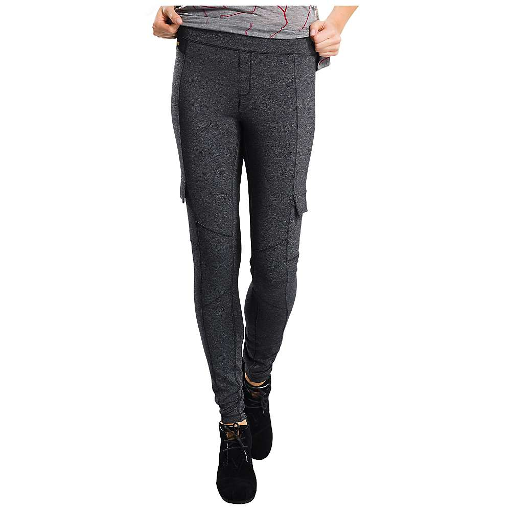 Lole Women's Oversea Pant - Large - Black Heather