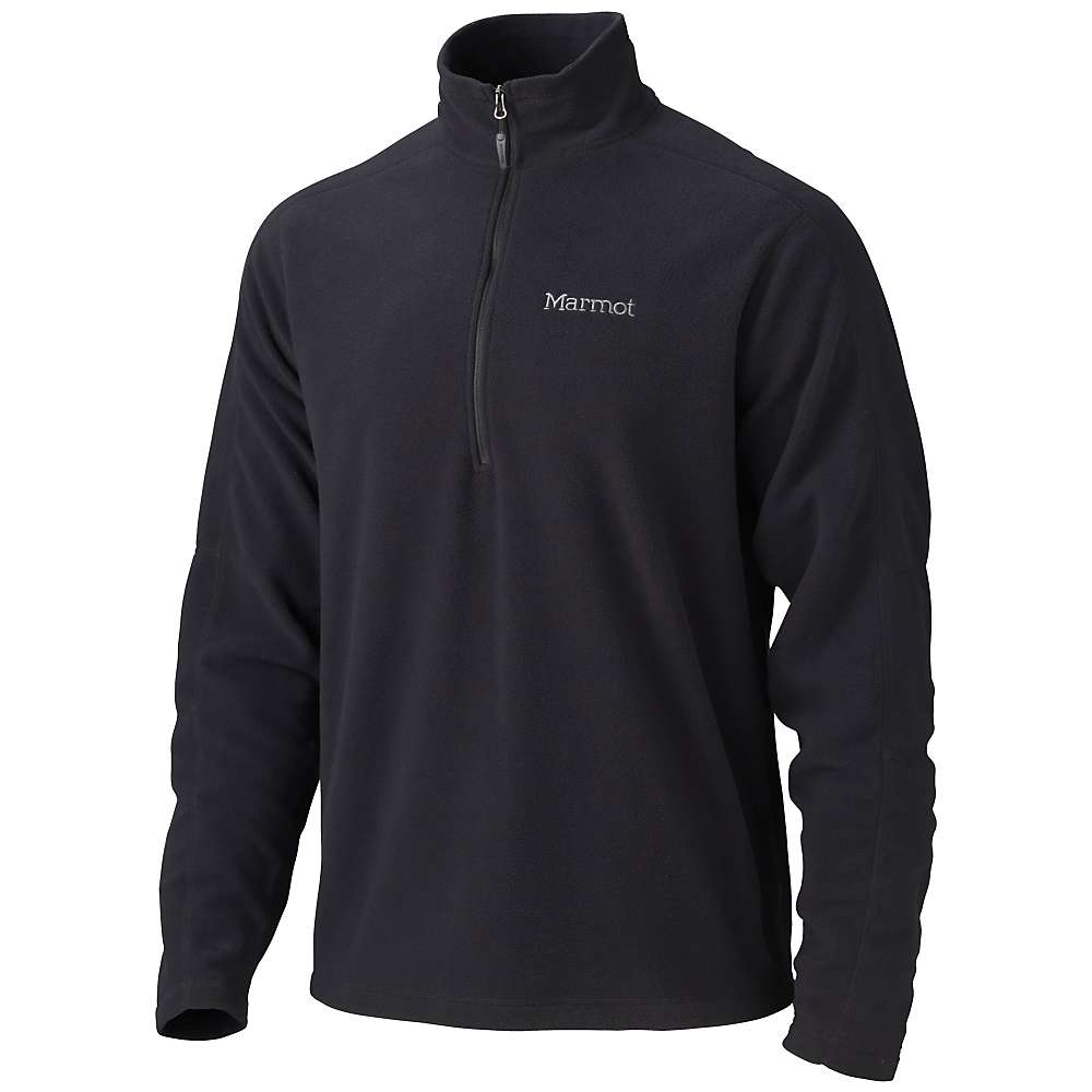 Marmot Men's Rocklin 1/2 Zip - XXL - Black