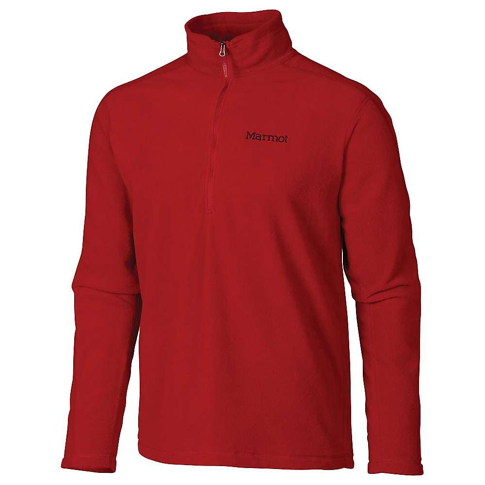 Marmot Men's Rocklin 1/2 Zip - XL - Dark Crimson