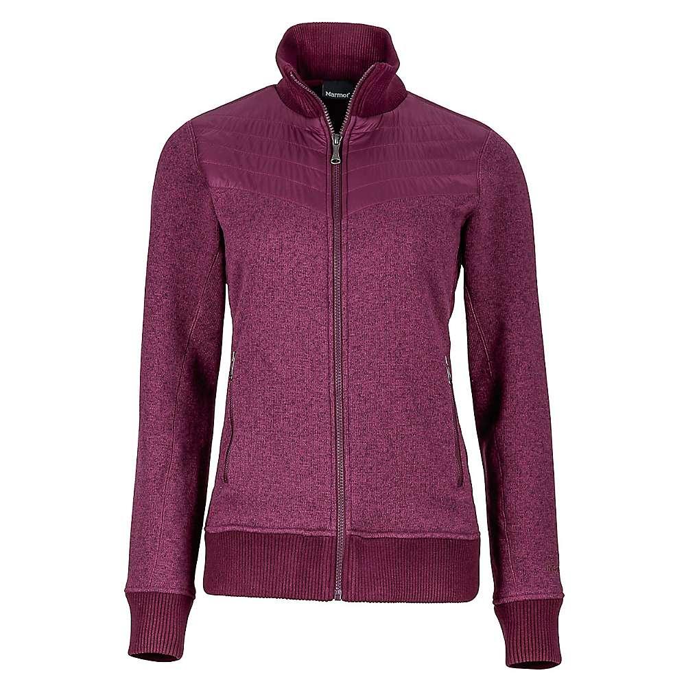 Marmot Women's Tech Sweater - Medium - Dark Purple