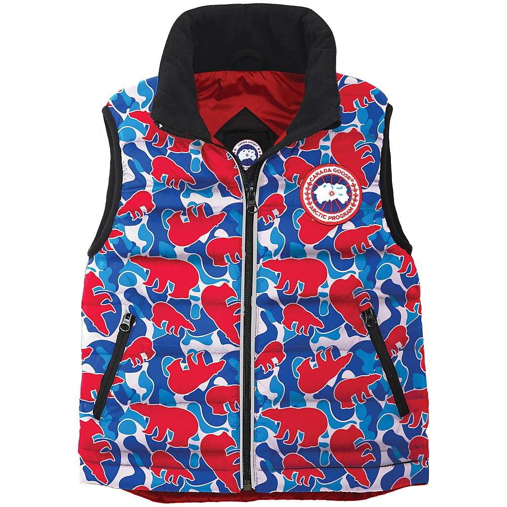 Canada Goose Kids' Bobcat Vest - 6-7 - Polar Camo thumbnail