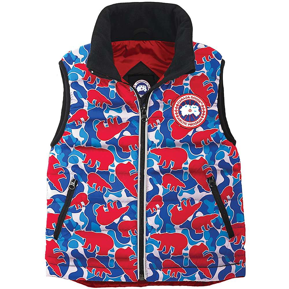 Canada Goose Kids' Bobcat Vest - 6-7 - Blush Polar Camo thumbnail