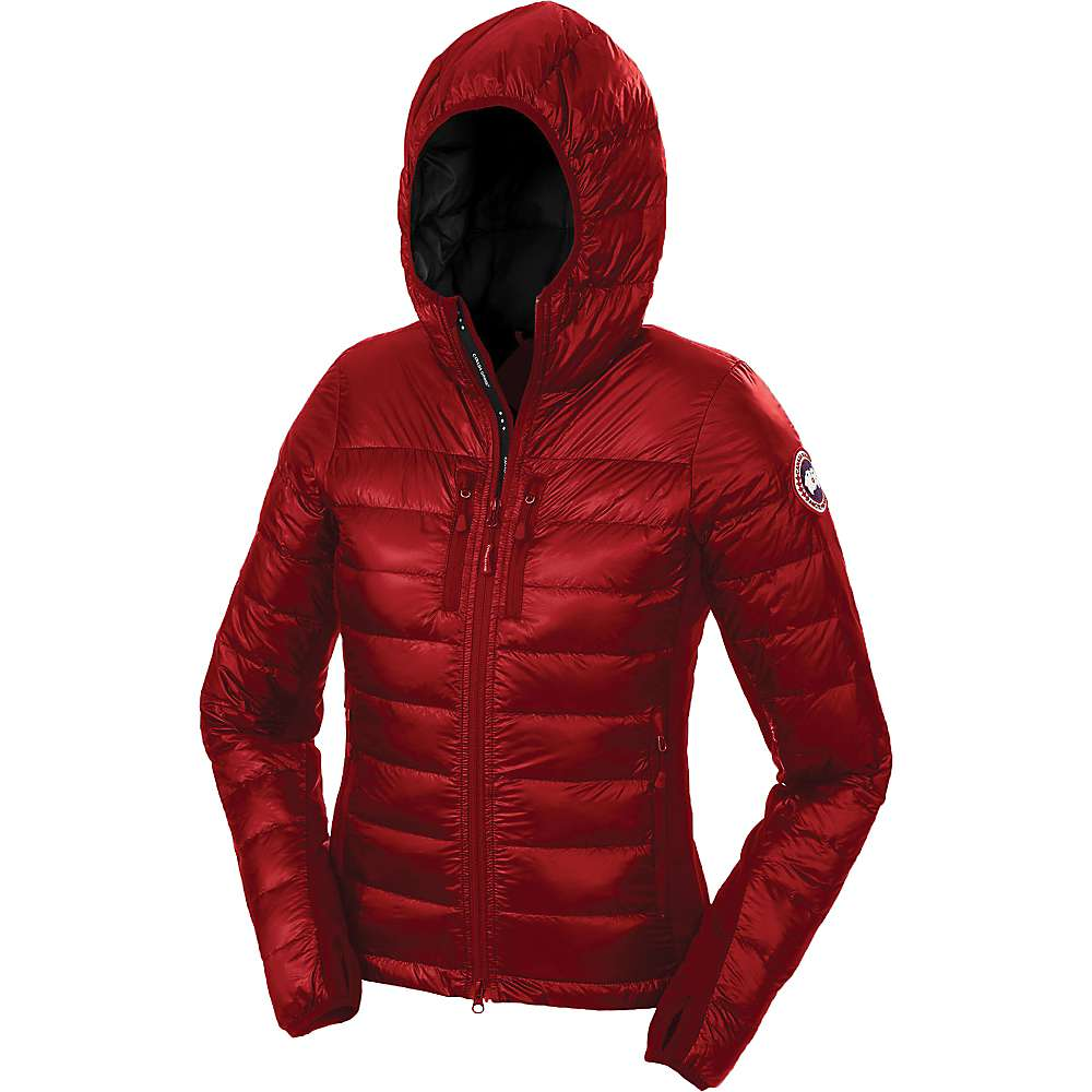 Canada Goose Women's Hybridge Lite Hoody - Large - Red / Black