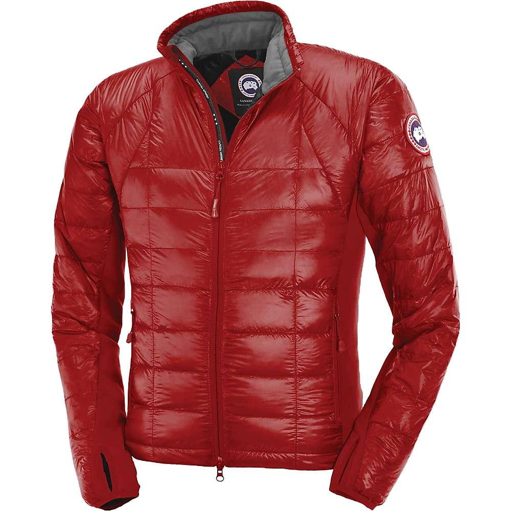 Canada Goose Men's Hybridge Lite Jacket - Large - Red / Black