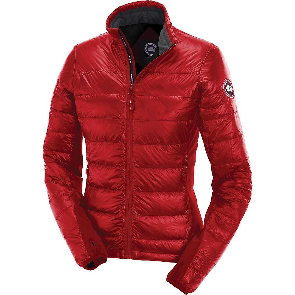 Canada Goose Women's Hybridge Lite Jacket - Large - Red / Black