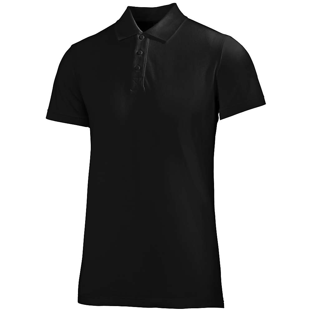 Helly Hansen Men's Crew Polo - Medium - Black