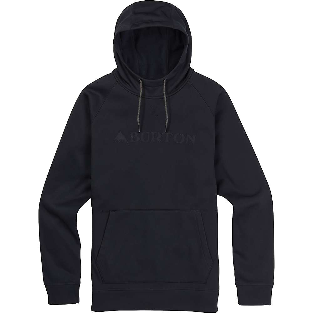 Burton Men's Crown Bonded Pullover Hoodie - XL - True Black 5001