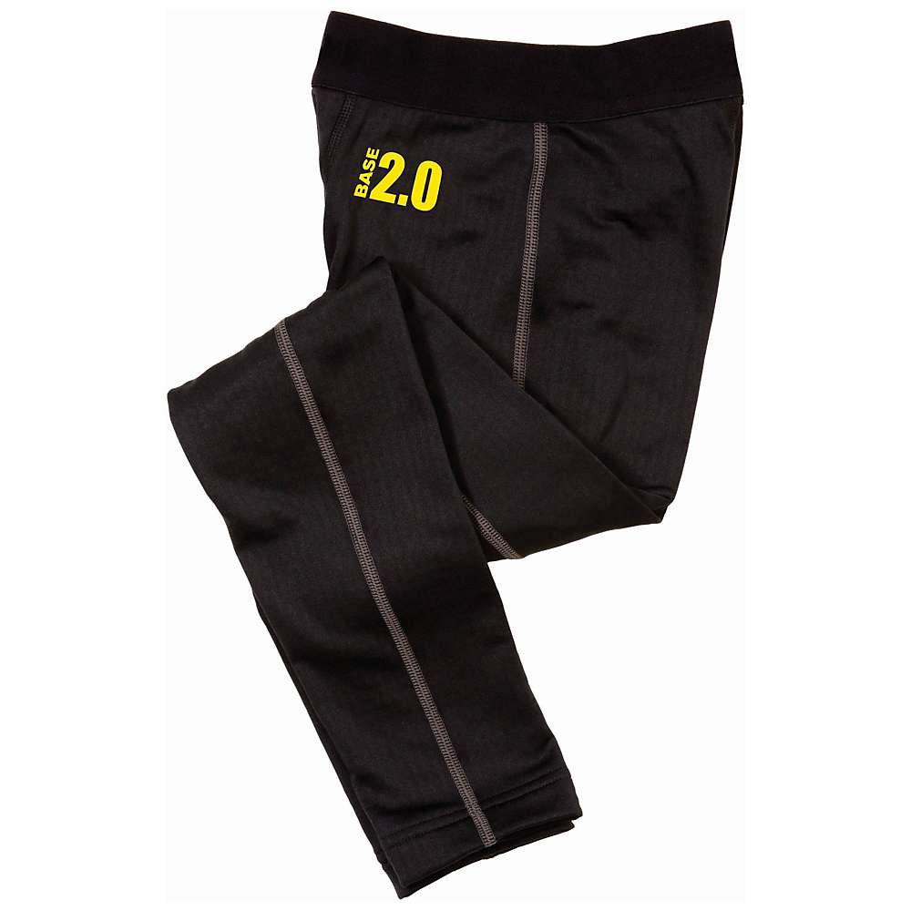 Under Armour Boys' UA Base 2.0 Legging - XL - Black / School Bus