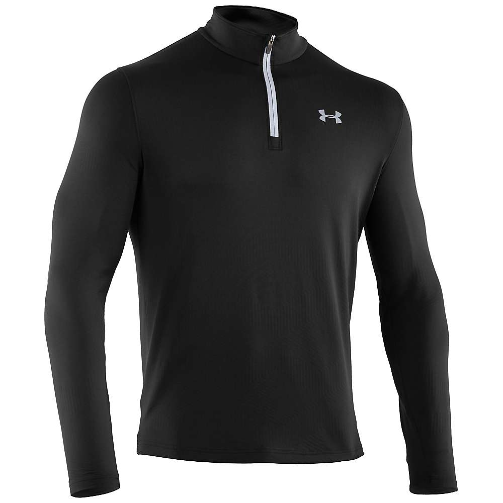 Under Armour Men's ColdGear Infrared Evo 1/4 Zip Top - Medium - Black / Steel