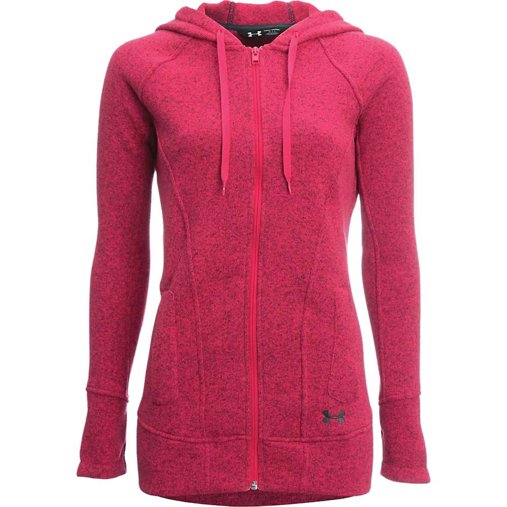 Under Armour Women's Wintersweet FZ Hoody - Small - Knock Out / Stealth Grey