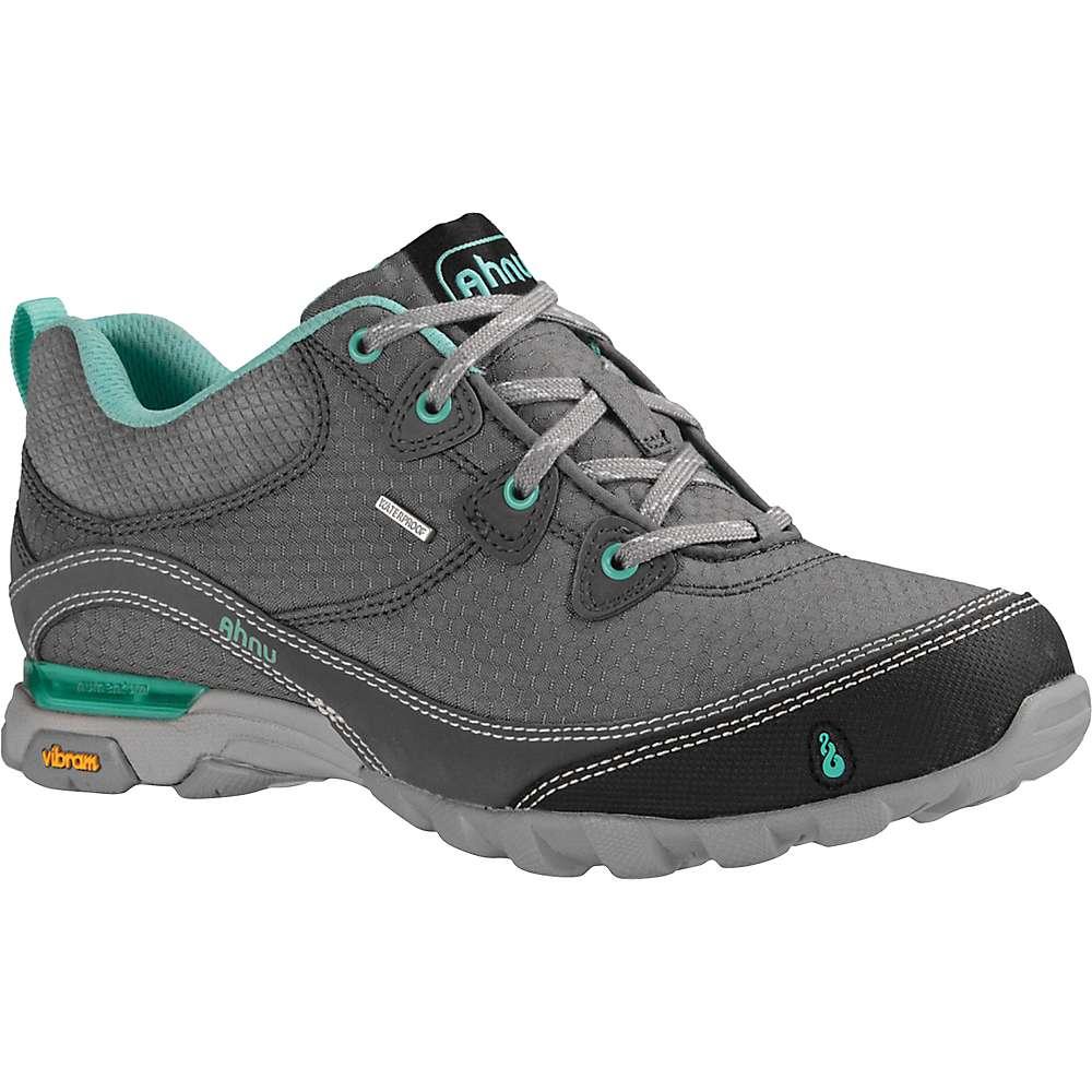 Ahnu Women's Sugarpine Waterproof Shoe - 7 - New Dark Grey