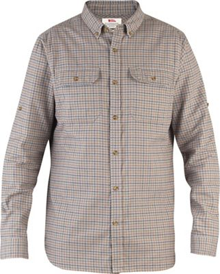 Fjallraven Forest Flannel Shirt - Small - Grey