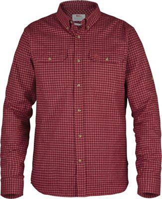 Fjallraven Forest Flannel Shirt - Medium - Deep Red