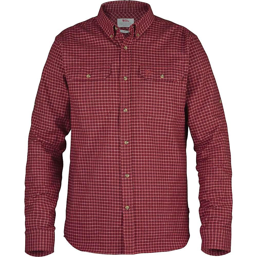 Fjallraven Forest Flannel Shirt - Deep Red