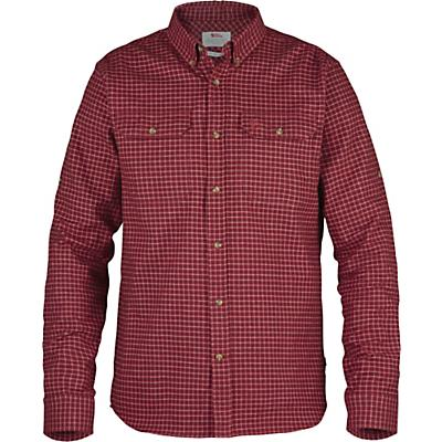 Fjallraven Forest Flannel Shirt - Deep Red