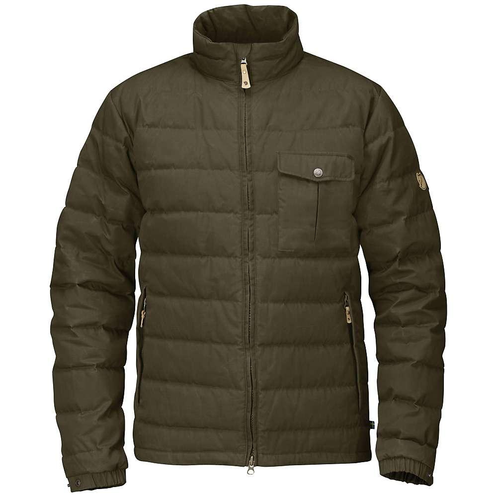 Fjallraven Men's Ovik Lite Jacket - Small - Dark Olive