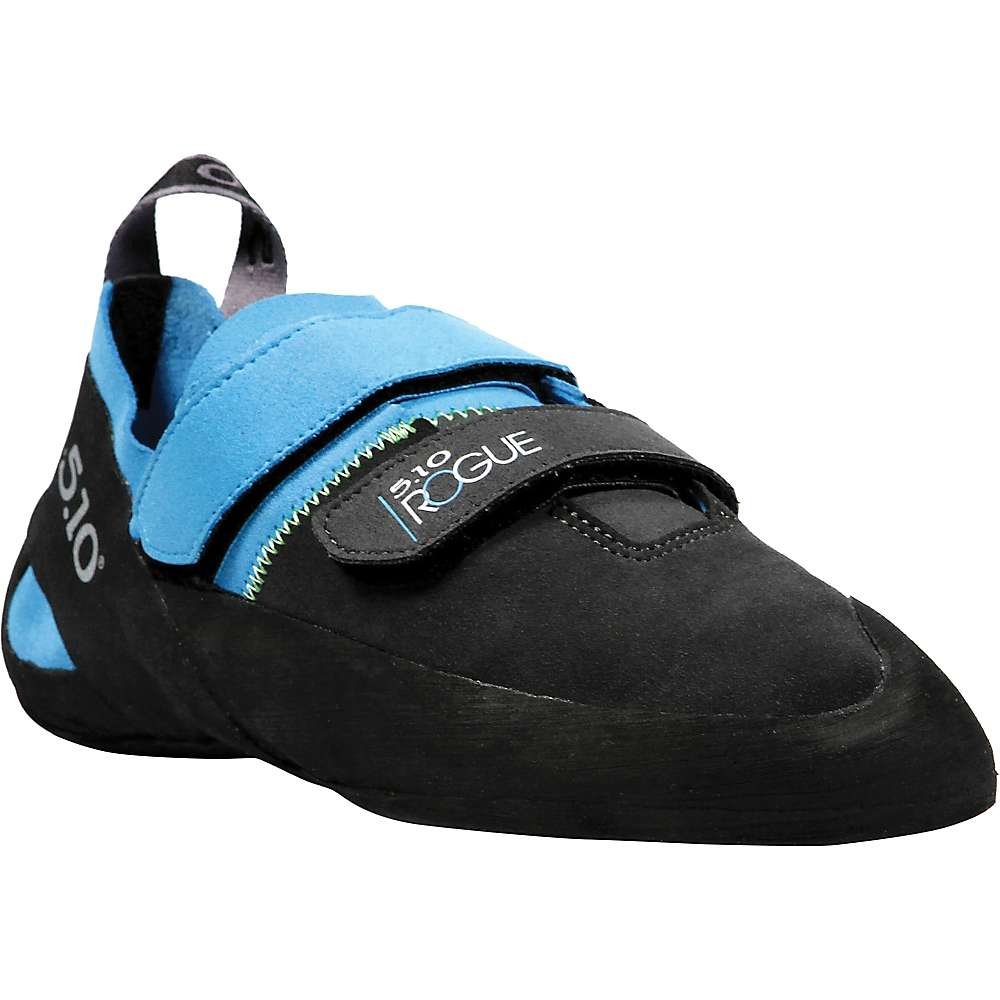 Five Ten Men's Rogue VCS Climbing Shoe - 2 - Neon Blue / Charcoal