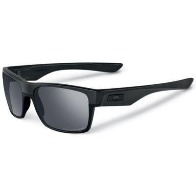 Oakley Two Face Sunglasses - One Size - Steel / Dark Grey