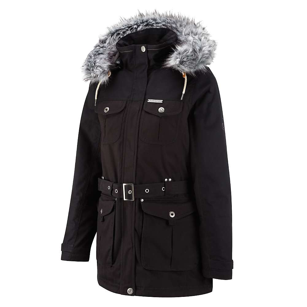 Craghoppers Women's Hallmoor Parka - 12 UK - Black
