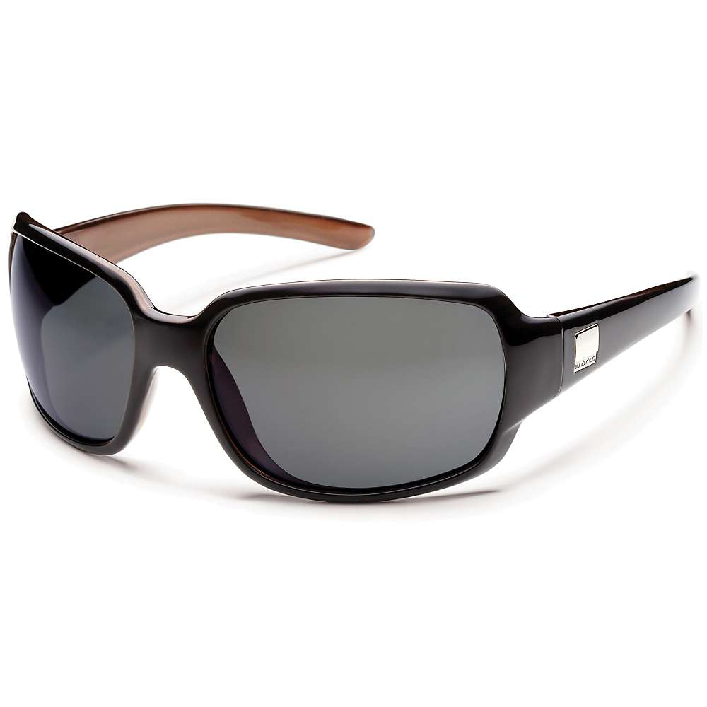 Image of Suncloud Cookie Polarized Sunglasses - One Size - Black Backpaint / Gray Polarized