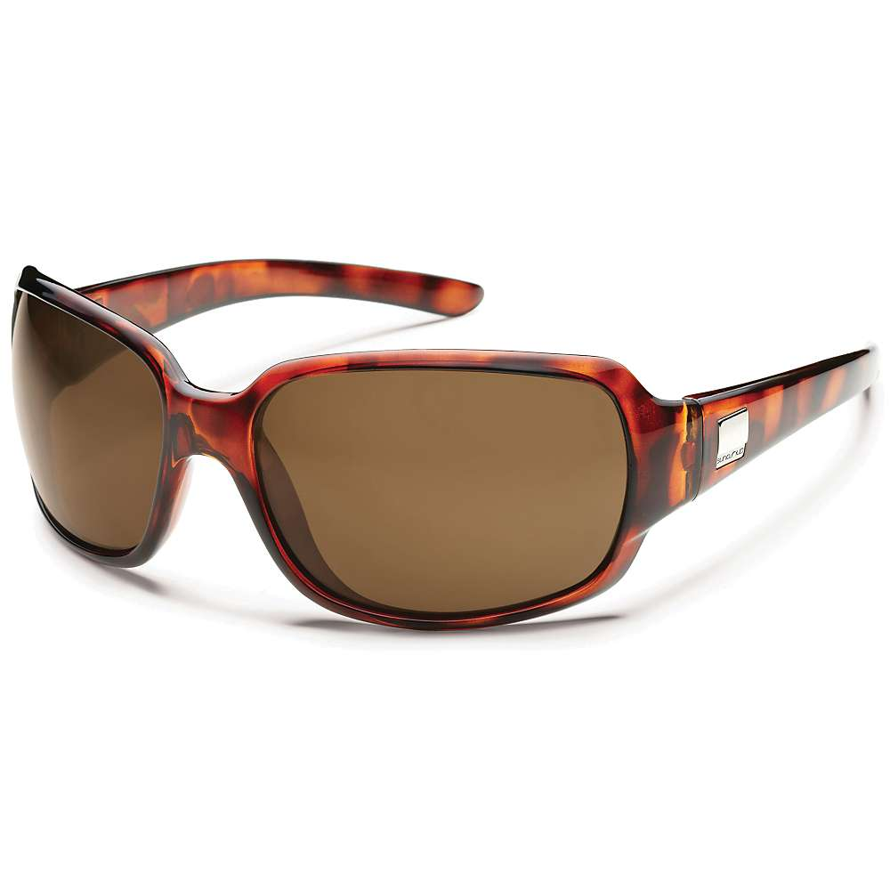 Image of Suncloud Cookie Polarized Sunglasses - One Size - Tortoise / Brown Polarized
