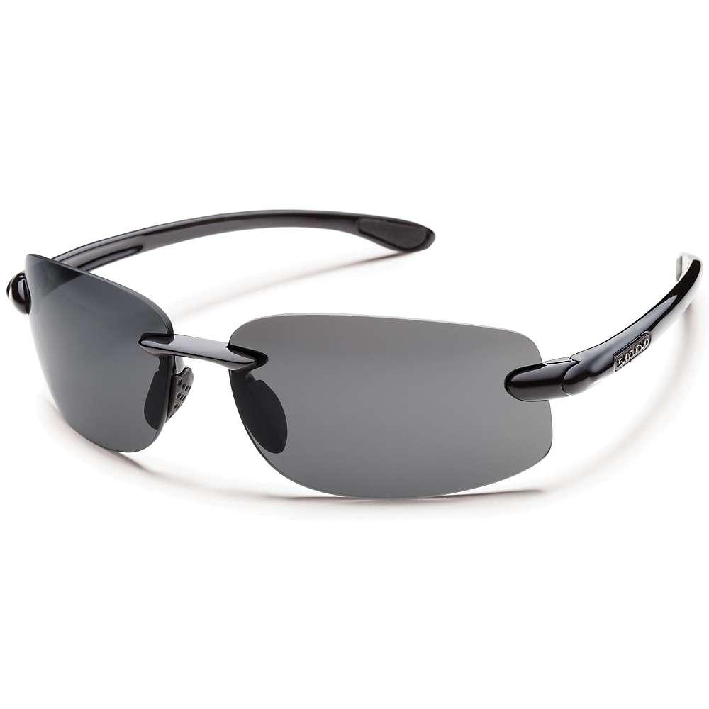 Image of Suncloud Excursion Polarized Sunglasses - One Size - Black / Gray Polarized