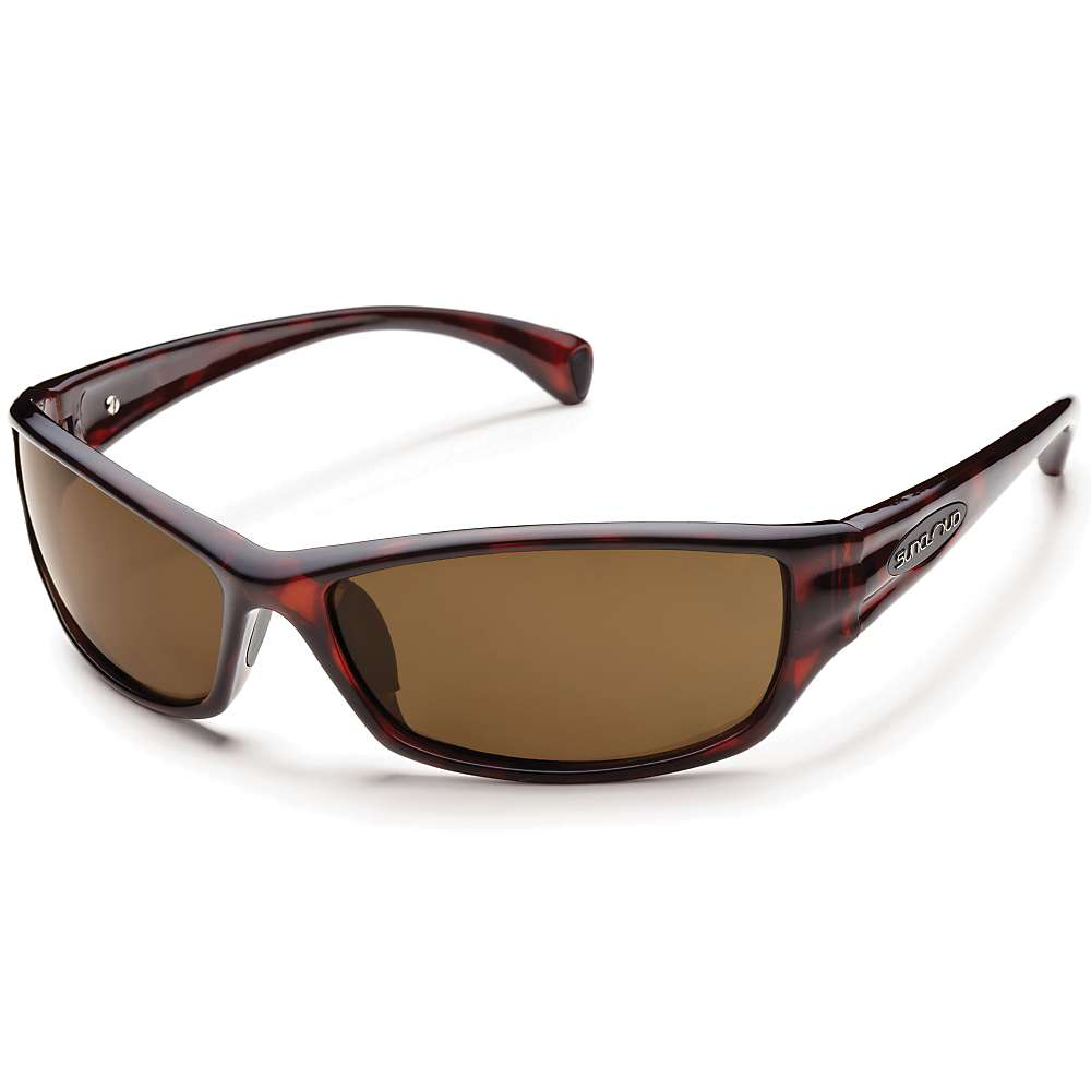 Image of Suncloud Hook Polarized Sunglasses - One Size - Havana / Brown Polarized