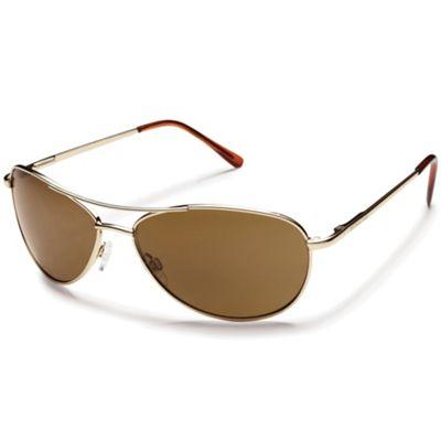 Suncloud Patrol Polarized Sunglasses - One Size - Gold / Brown Polarized
