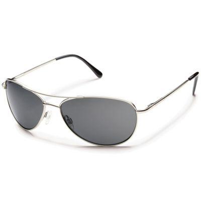 Suncloud Patrol Polarized Sunglasses - One Size - Silver / Gray Polarized