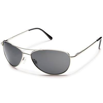 Suncloud Patrol Polarized Sunglasses - Silver / Gray Polarized
