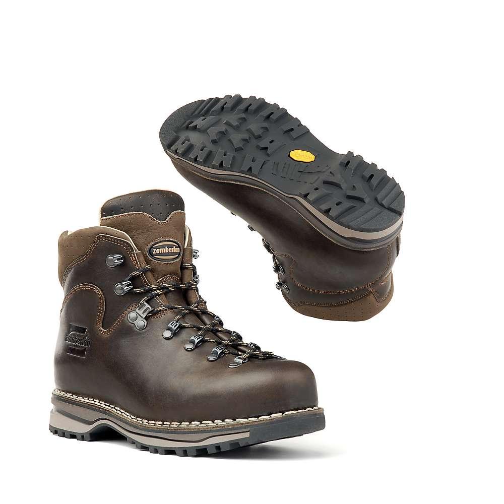 Zamberlan Men 's 1023 Latemar NW Boot - 11.5 - Waxed Dark Brown