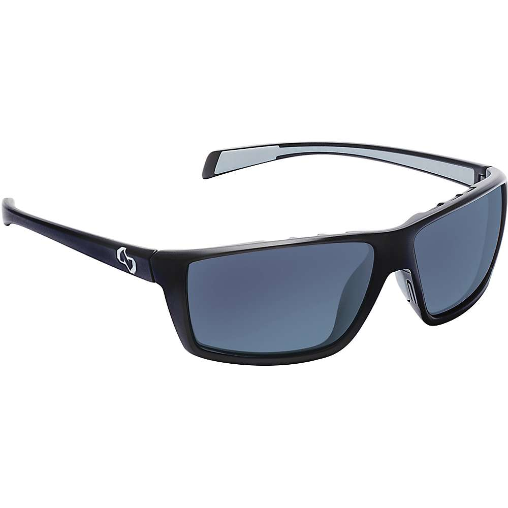 Native Sidecar Polarized Sunglasses - One Size - Matte Black / Blue Reflex
