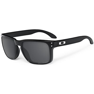 Oakley Holbrook Polarized Sunglasses - Polished Black / Grey Polarized