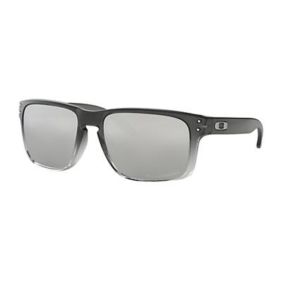 Oakley Holbrook Polarized Sunglasses - Dark Ink Fade / Chrome Iridium Polarized