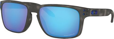 Oakley Holbrook Polarized Sunglasses - One Size - Matte Black Tortoise / PRIZM Sapphire Polarized