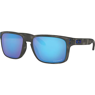 Oakley Holbrook Polarized Sunglasses - Matte Black Tortoise / Prizm Sapphire Polarized