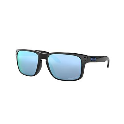 Oakley Holbrook Polarized Sunglasses - Polished Black / Prizm Deep H2O Polarized