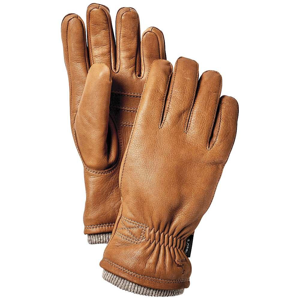 Hestra Men's Deerskin Swisswool Rib Cuff Glove
