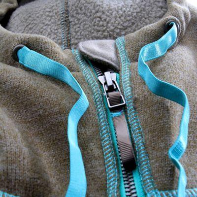 Adjustable high collar hood