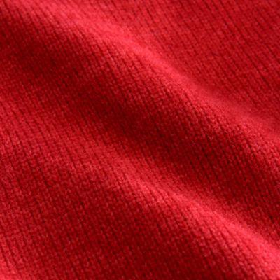 Rib knit side panels