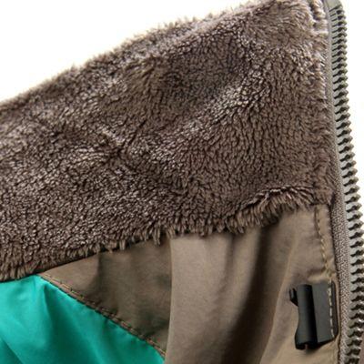 Soft Monkey Fleece interior collar lining