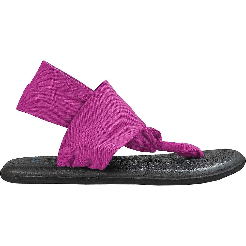 Sanuk Women's Yoga Sling 2 Sandal - 7 - Magenta