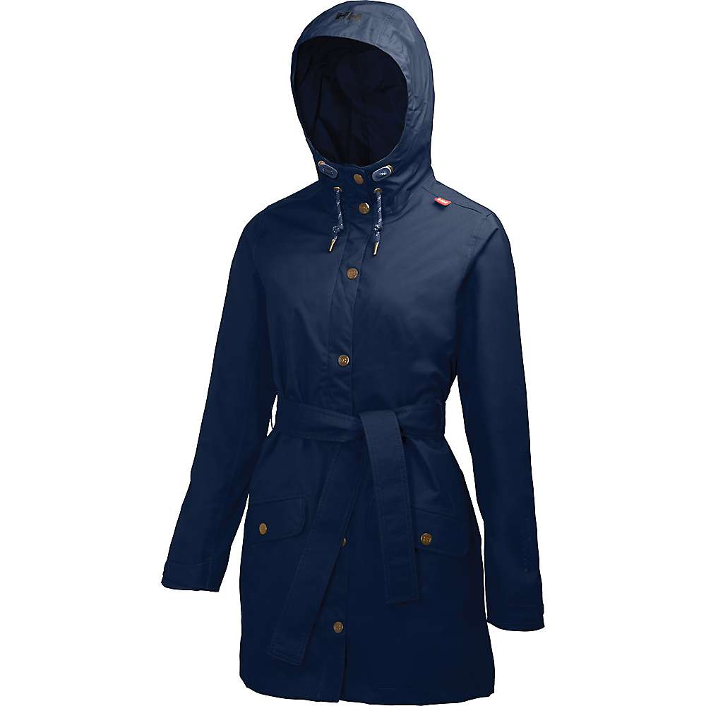 Helly Hansen Women's Lyness Coat - Large - S18 Evening Blue