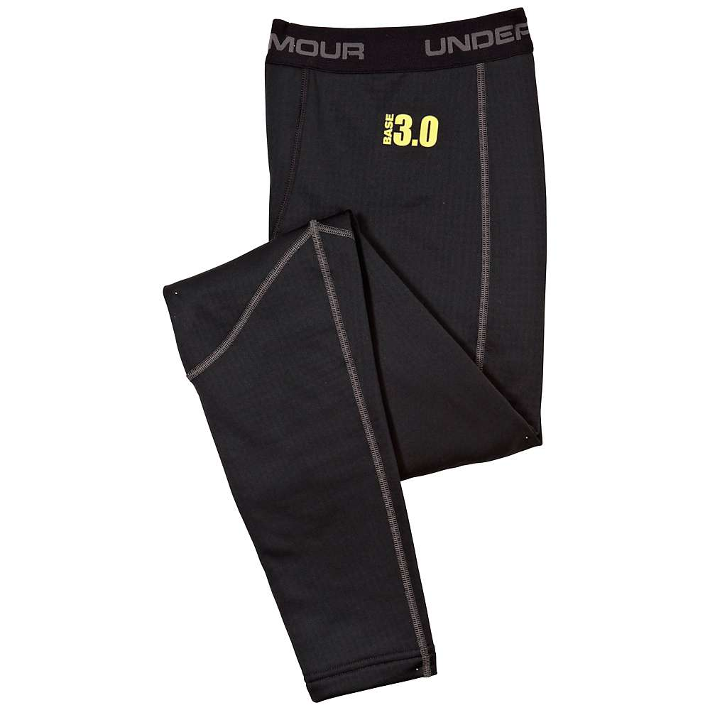 Under Armour Men's UA Base 3.0 Legging - XL - Black / Battleship / School Bus