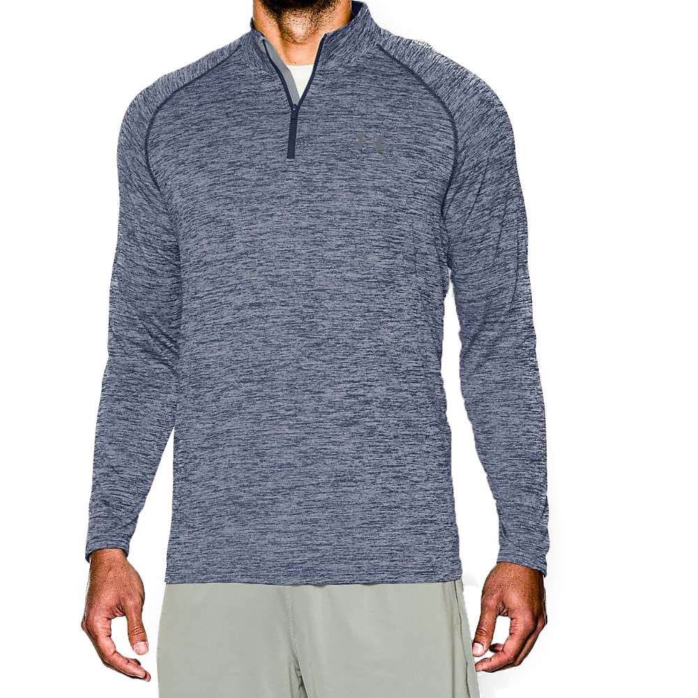 Under Armour Men's UA Tech 1/4 Zip Top - Large - Academy / Steel / Steel