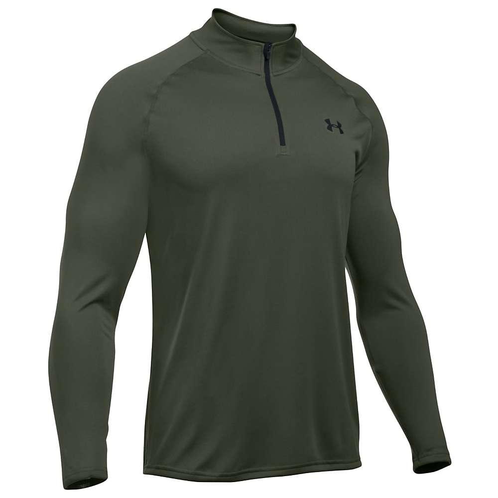 Under Armour Men's UA Tech 1/4 Zip Top - XL - Downtown Green / Black