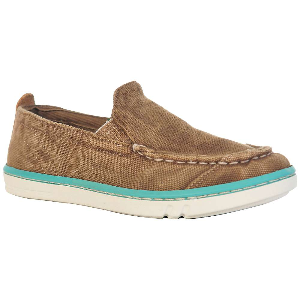 Timberland Youth Earthkeepers Hookset Hand Crafted Shoe - 2 - Brown