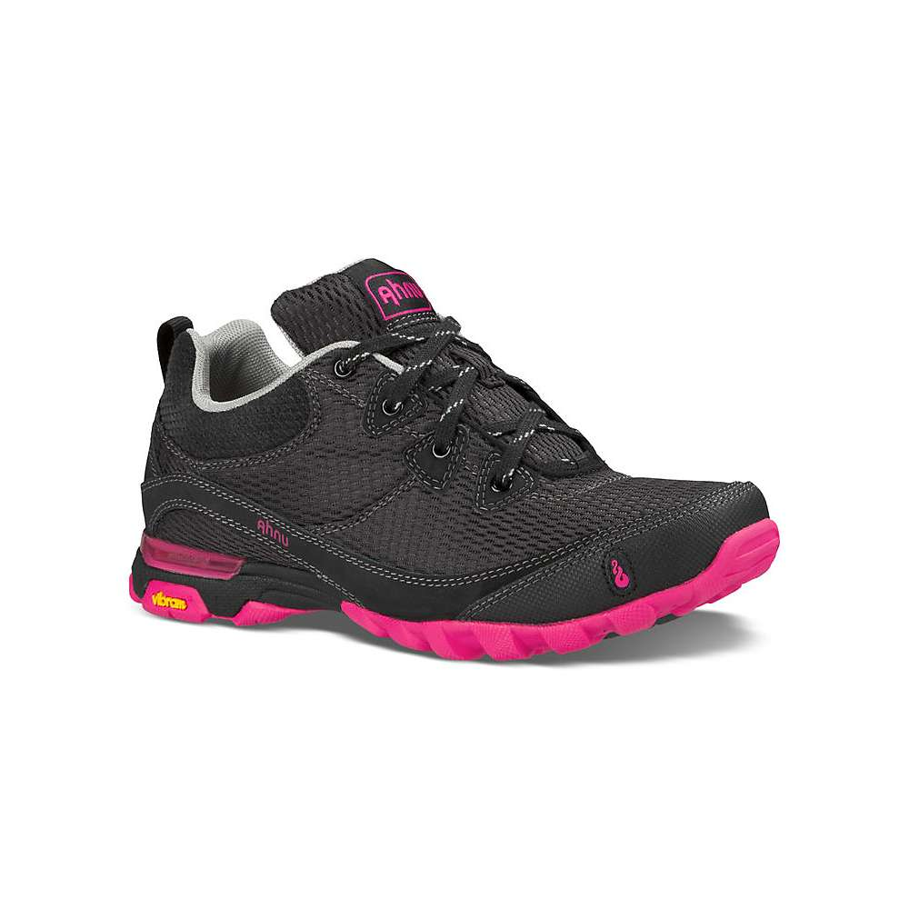 Ahnu Women's Sugarpine Air Mesh Shoe - 7 - Black / Pink